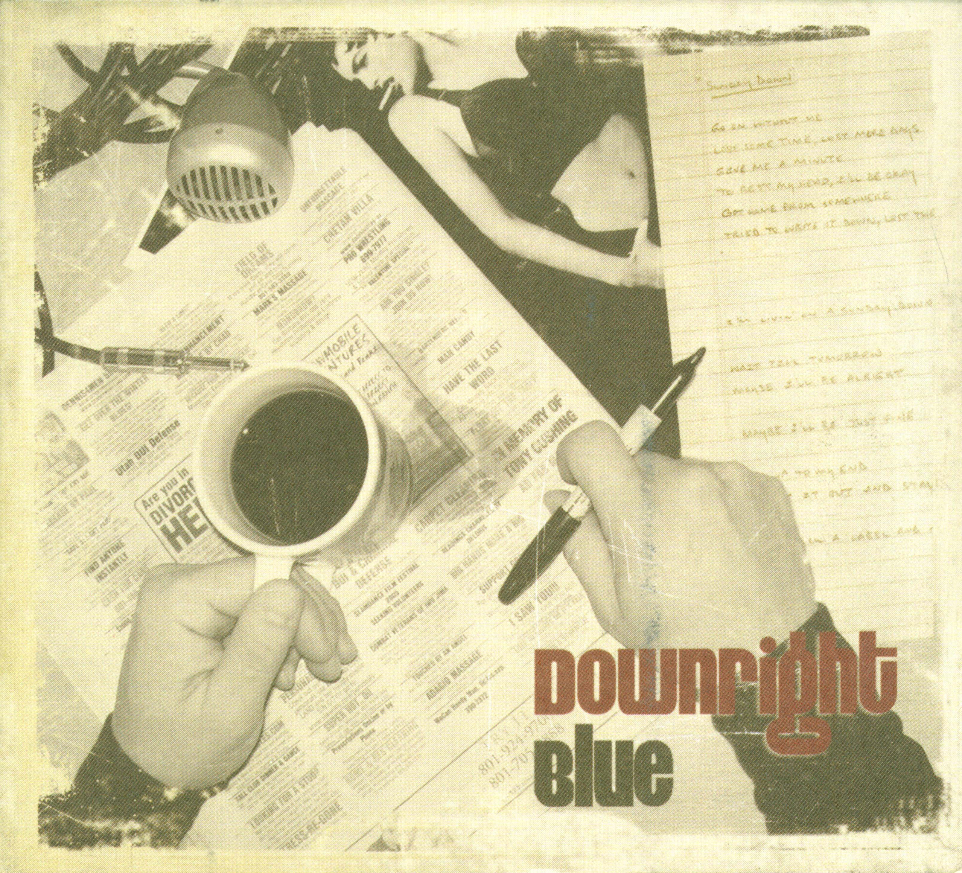Downright Blue album cover